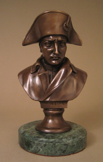 FRENCH NAPOLEONE CLASSIC BRONZE BUST