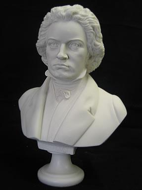FABULOUS BEETHOVEN BUST SCULPTURE STATUE