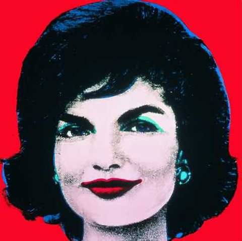 FABULOUS OFFICIAL AUTHORIZED WARHOL JACKIE KENNEDY ONASSIS OVERS