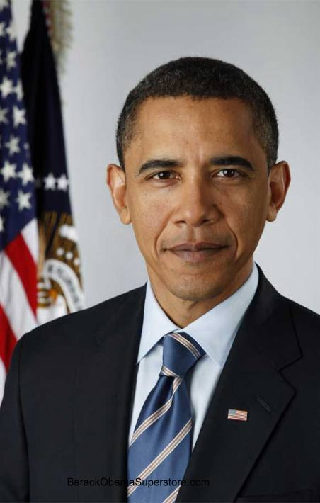 SPLENDID BARACK OBAMA OFFICIAL PRESIDENTIAL  PORTRAIT