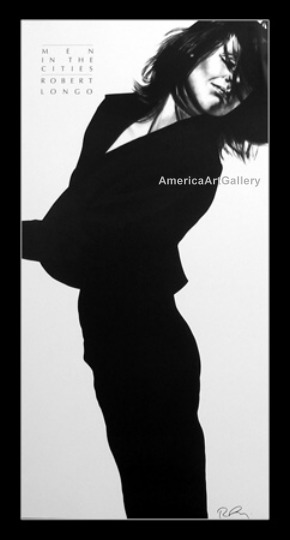 FABULOUS ROBERT LONGO MEN IN CITIES HAND SIGNED(P4)