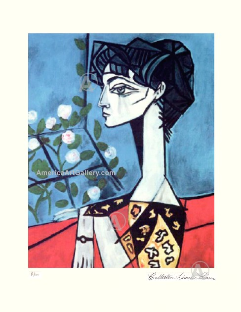 PABLO PICASSO WIFE OF PICASSO HAND SIGNED S/N L/E w/COA