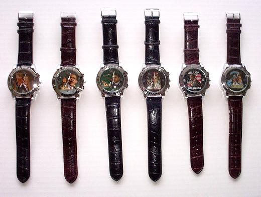 FABULOUS COLLECTIBLE BARACK OBAMA WRIST WATCH